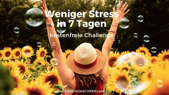 Christa Daschner-weniger Stress in 7 Tagen
