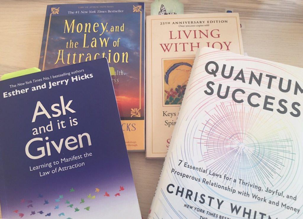 Bücher über das Gesetz der Anziehung