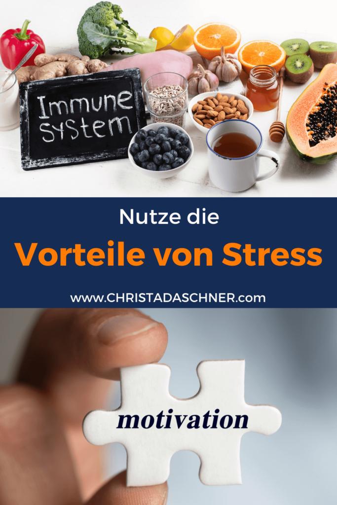 Vorteile von Stress